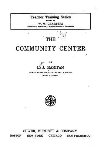 Download The community center