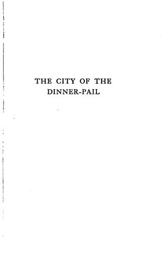 Download The city of the dinner-pail