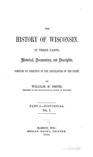 Download The history of Wisconsin
