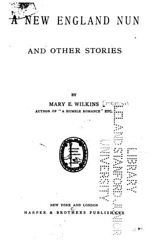 Download A new England nun, and other stories