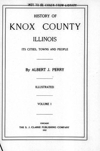 History of Knox County, Illinois (Open Library)