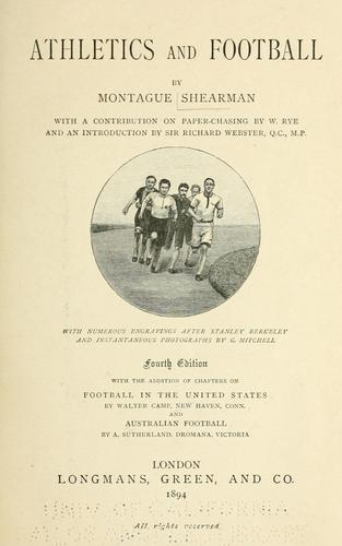 Download Athletics and football