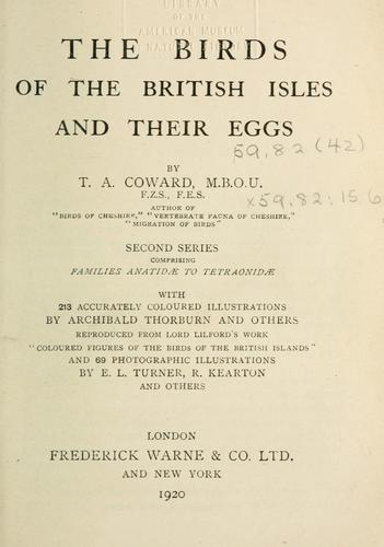 Download The birds of the British Isles and their eggs.
