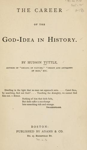 Download The career of the God-idea in history.