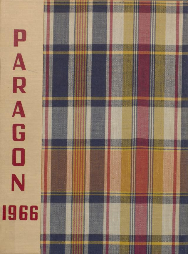 Cover image of Munster High School's yearbook, Paragon