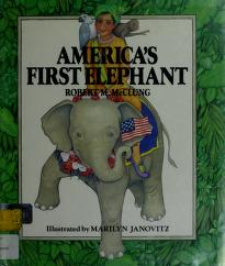 Cover of: America's first elephant by Robert M. McClung