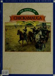 Cover of: The Battle of Chickamauga | William Glenn Robertson