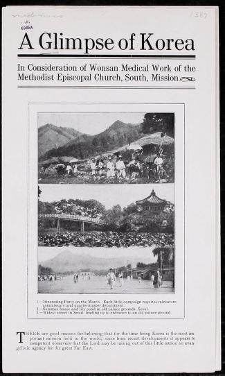 A glimpse of Korea by Methodist Episcopal Church