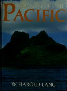 Cover of: Islands of the Pacific | W. Harold Lang