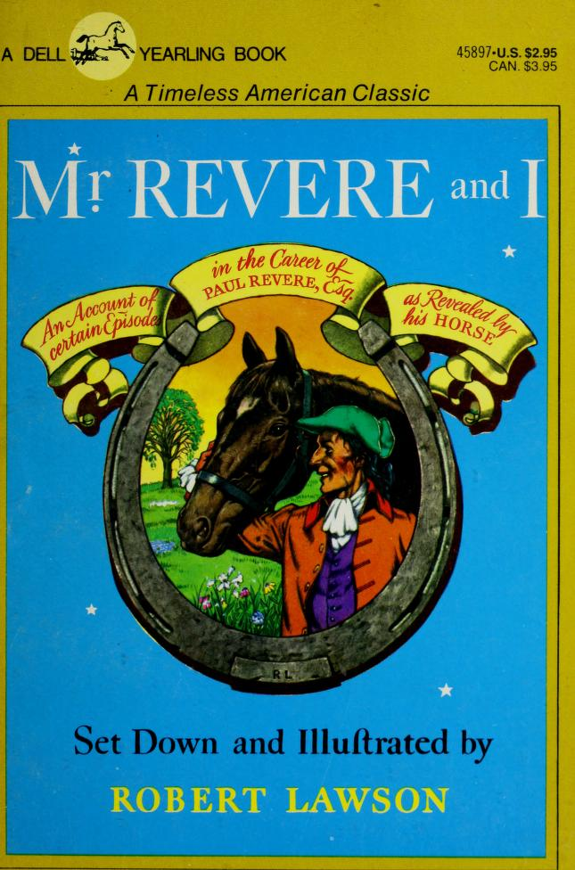 Mr Revere & I by Robert Lawson