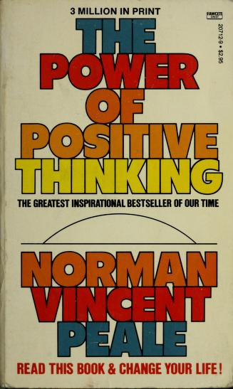 Cover of: The power of positive thinking | Norman Vincent Peale