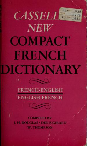 Cassell's new compact French-English, English-French dictionary by
