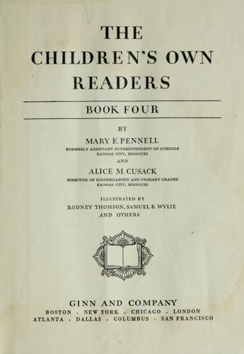 The children's own readers by