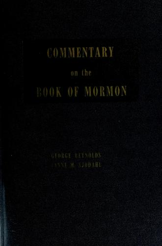 Commentary on the Book of Mormon by Reynolds, George