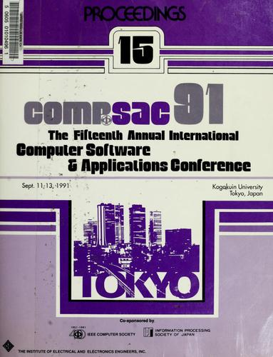 COMPSAC 91 by COMPSAC (15th 1991 Tokyo, Japan)
