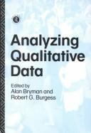 Analyzing qualitative data by