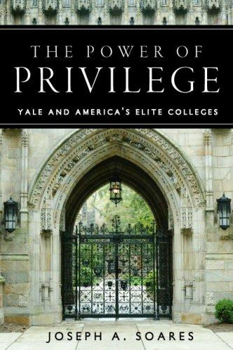 The Power of Privilege by Joseph Soares