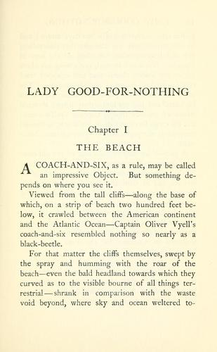 Lady Good-for-nothing by Arthur Thomas Quiller-Couch