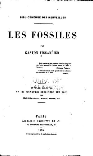 Les fossiles by Gaston Tissandier