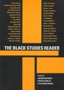 The Black studies reader by Jacqueline Bobo, Cynthia Hudley, Claudine Michel, editors.