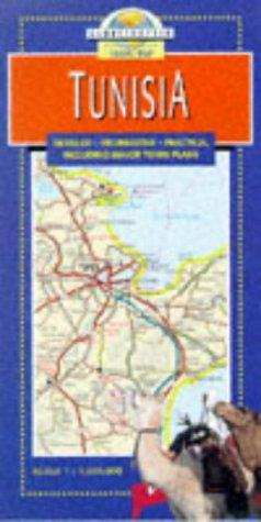 Tunisia Travel Map by Globetrotter