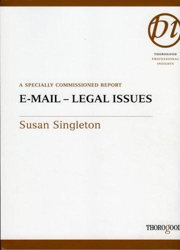 Email by Susan Singleton