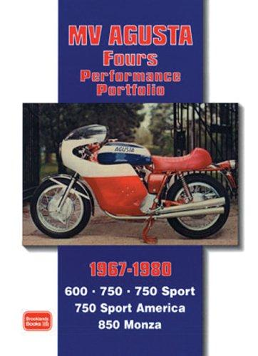 MV Agusta Fours 1967-1980 Performance Portfolio by R. M. Clarke