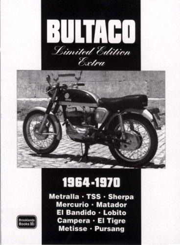 Bultaco Limited Edition Extra 1964-1970 by R.M. Clarke