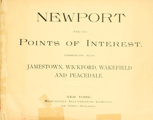 Newport and its points of interest by Mercantile Illustrating Co.